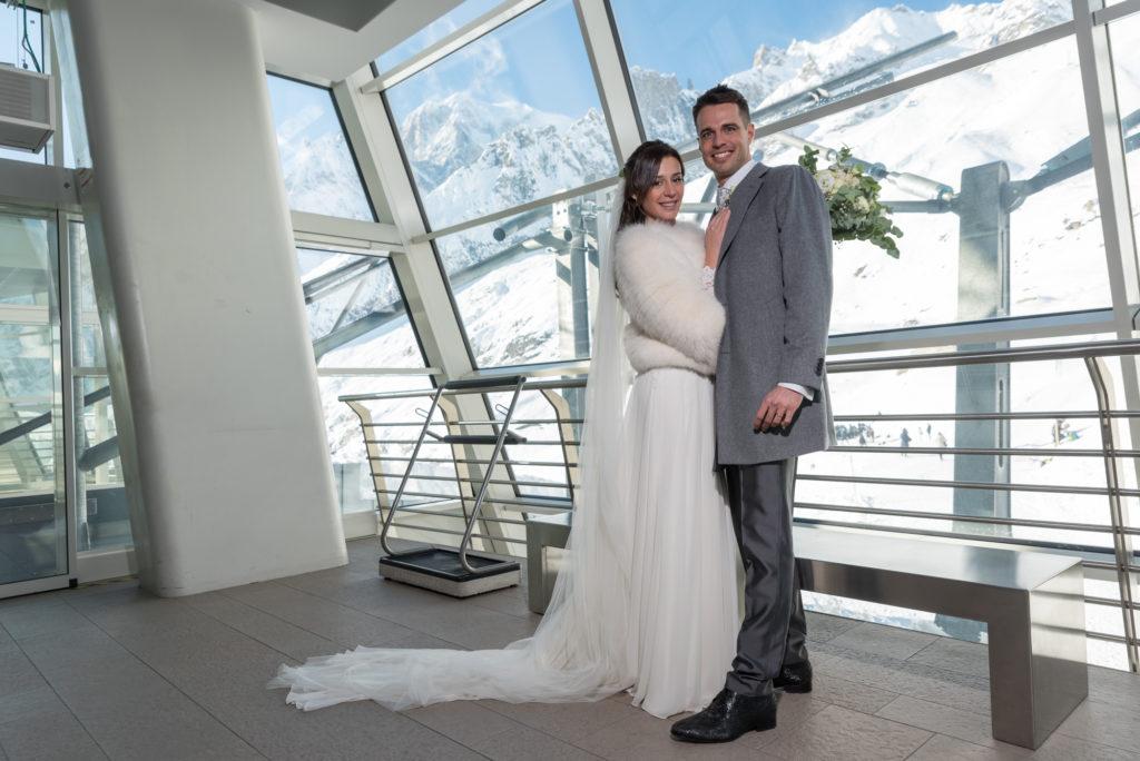 Matrimonio SkyWay Monte Bianco 60